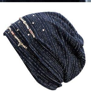 Accessories - Super cute beaded bonnet style hat!